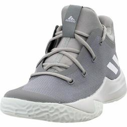 adidas Rise Up 2 Basketball Shoes - Grey - Mens