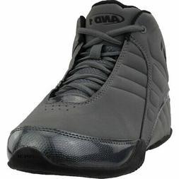 AND1 Rocket 3.0 Mid Basketball Shoes - Grey - Mens