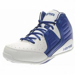 AND1 Rocket 4.0 Mid Basketball Shoes - White - Mens