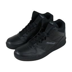 Reebok Royal Bb4500 Hi2 Mens Black Leather Low Top Sneakers