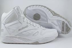 REEBOK ROYAL BB4500 HIGH HI WIDE E WHITE/GRAY CLASSIC BASKET
