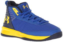 Under Armour Boys' Pre School Jet 2018 Basketball Shoe, Team