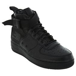 Nike SF AF1 Air Force MID Big Kids Shoes Black aj0424-003