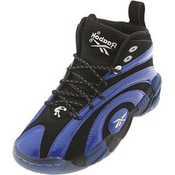 Reebok Shaqnosis OG Shoe ,Black/Truth Blue/White,7 M US Big