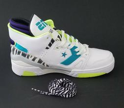 Converse Shoes ERX 260 Sz 12 Men / 13.5 Women White /Teal/Pu