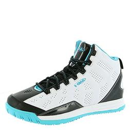 new style 056d4 5e872 Editorial Pick AND1 Kids Show Out Basketball Shoe, 5 M US Big Kid White Bla