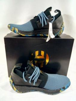 Size 8 ADIDAS Harden LS 2 Lace MVP Basketball Shoes Black/Bl