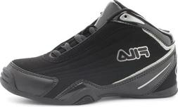 Fila Kid's Slam 12C Athletic Sneakers, Black Synthetic, Leat