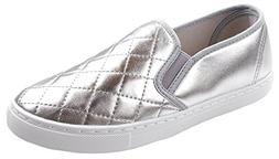 Anna Women's Slick Ligh Weight Comfort Slip On Quilted Fashi