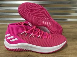 Adidas SM Dame 4 Basketball Shoes Damian Lillard Pink White