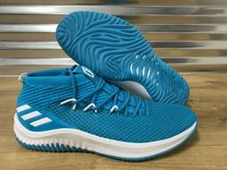 Adidas SM Dame 4 Basketball Shoes Damian Lillard Teal Blue W