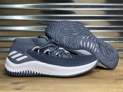 Adidas SM Dame 4 Basketball Shoes Damian Lillard Gray White