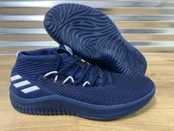 Adidas SM Dame 4 Basketball Shoes Damian Lillard Navy Blue W