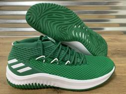 Adidas SM Dame 4 Basketball Shoes Damian Lillard Green White