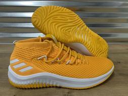 Adidas SM Dame 4 Basketball Shoes Damian Lillard Gold White