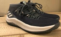 Adidas SM Dame 4 NBA Men's Basketball Shoes Grey White  Size