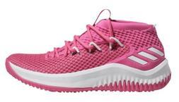 Adidas SM Dame 4 NBA/NCAA BC Basketball Shoes - Pink/White -