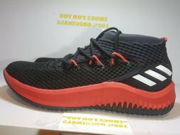 Adidas SM Dame 4 SZ 13 NCAA Basketball Shoes Black Scarlet R
