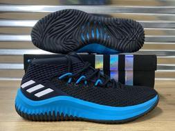 Adidas SM Dame 4 NCAA NBA Team Basketball Shoes Black Teal B