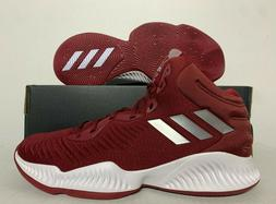 Adidas SM Mad Bounce 2018 Team BD Basketball Shoes Burgundy