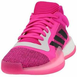 adidas SM Marquee Boost Low  Casual Basketball  Shoes - Pink