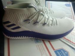 Adidas SM SIZE 19 Dame 4 Basketball Shoes Damian Lillard Whi