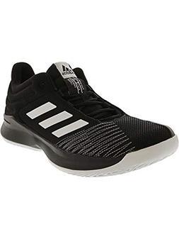 adidas Men's Pro Spark Low 2018 Basketball Shoe, Black/White