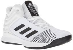 adidas Unisex Pro Spark 2018 Basketball Shoe White/Black/Gre