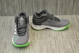 adidas Unisex Pro Spark 2018 K Basketball Shoe, Grey Four/Wh