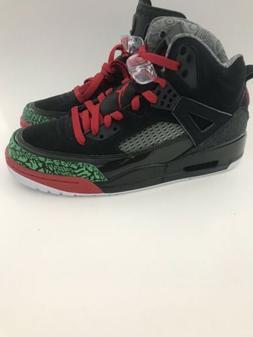 Nike Air Jordan Spizike Black Red Green 315371-026 Size Mens