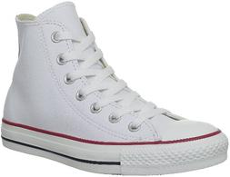 Converse All Star Hi Optical White Leather 132169C