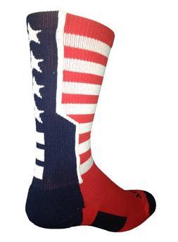 Stars and Stripes Perimeter Socks
