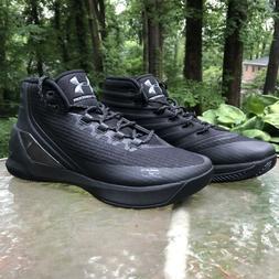 Under Armour Steph Curry 3 Trifecta Triple Black Basketball