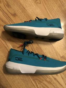Under Armour Steph Curry 3 Zero Basketball Shoes Size 10.5 -