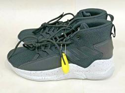 adidas Men's Streetfire Basketball Shoe, Black/White, 9 M US