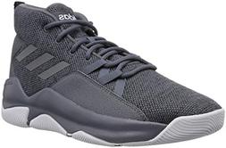 adidas Men's Streetfire Basketball Shoe, Onix/Black, 7 M US