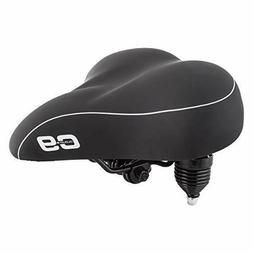 Sunlite Cloud-9 Bicycle Suspension Cruiser Saddle, Cruiser G