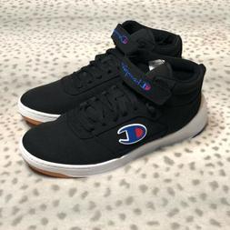 Champion Super C Court Mid Shoes Mens Size 10 Black Basketba