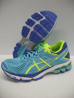 Asics T5A7N GT-1000 4 Running Training Shoes Sneakers Blue W
