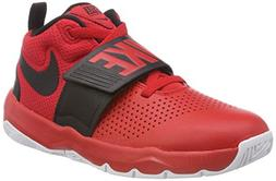 NIKE Boy's Team Hustle D 8  Basketball Shoe University Red/B