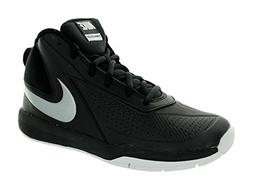 Nike Kids Team Hustle D 7  Basketball Shoe Black/Mtllc Silve
