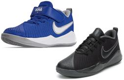 NIKE Team Hustle Quick 2  Kids Youth Basketball Shoes Blue/B
