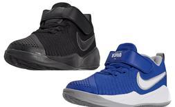 NIKE Team Hustle Quick 2  Kids Basketball Shoes Blue/Black A