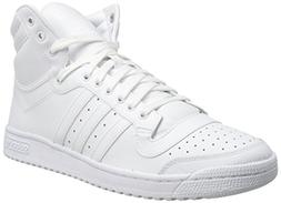 adidas Originals Men's Top Ten Hi Basketball Shoe, White/Whi