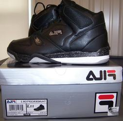 Fila Thunderceptor 2 Basketball Shoes Sneakers High NEW Blac