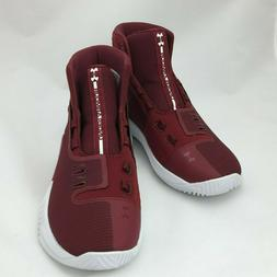 Under Armour UA Drive 4 TB Basketball Shoes Red White Size 5