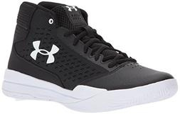 Under Armour Women's UA Jet 2017 Black/White/White 8 B US