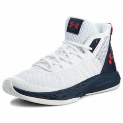 Under Armour UA Jet Mid Basketball  Athletic Mens Sneakers S