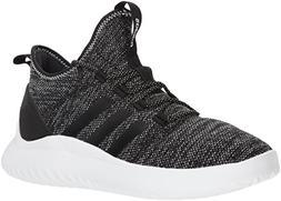 adidas Men's Ultimate Bball Basketball Shoe, Black/White, 9