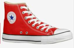 CONVERSE Unisex Chuck Taylor All Star High Top Red Athletic